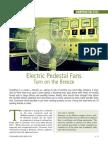 Know your Electric Pedestal Fans