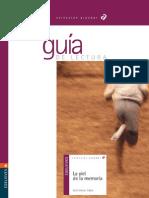 Guía de lectura - La piel de la memoria (Jordi Sierra i Fabra)