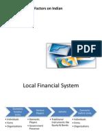 Global Factors on Indian Financial Market