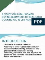 ppt rural women buying behaviour