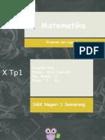 Powerpoint Logaritma Dan Eksponen