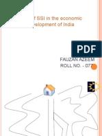 role of ssi in economic development.ppt