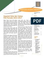 Seputar Aktuaris Edisi 1 23Des2014