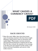 what causes currency crisis
