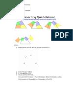 Dissecting Quadrilaterals Using Geogebra