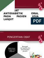 Obat-obat Antidiabetik Oral Pada Pasien Usia Lanjut [Autosaved]