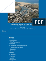 Partnership Delivery for Flood & Coast Erosion Schemes