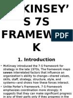 Mckinsey's 7's Framework