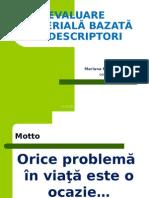 Evaluare Criteriala Bazata Pe Descriptori_TELENESTI