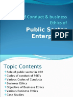 Codes of Conduct & Business Ethics Ob