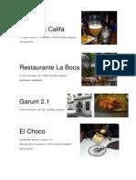 Cordoba Restaurantes
