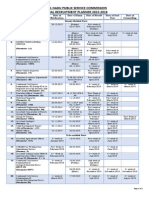 TNPSC Annual Planner 30-01-2015