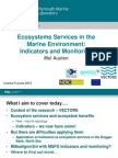 Ecosystems Services in the Marine Environment