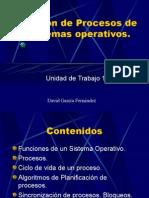 UT1 Gestión Procesos Sistemas Operativos