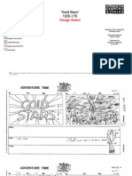 AT 179 Gold Stars - design storyboard