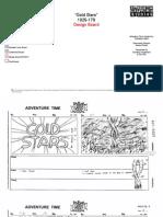 AT 179 Gold Stars - design storyboard