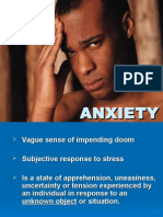 Anxiety, Personality & Child Disorders