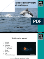 Mobile Marine Species Conservation