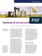 Digitizing oil and gas production