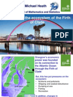 Changes In The Ecosystem Of The Firth Of Clyde