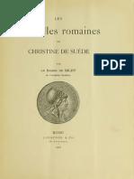 Les médailles romaines de Christine de Suède / par le Baron de Bildt