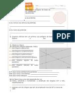 Ficha Formativa 2 Geometria 5º Ano