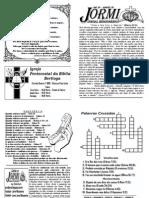 JORMI - Jornal Missionário nº 86