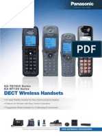 DECT Wireless Handset Brochure