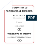 Foundation of Sociology 108