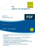Fishing In MPAs - The Role Of Adaptive Risk Management