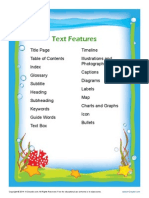 text features posters