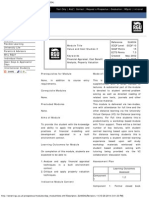 Value and Cost Studies 3 (SU4004)