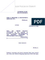 Pier 8 Arrastre & Stevedoring Services, Inc. vs. Confesor, G.R. No. 110854, February 13, 1995, 214 SCRA 295