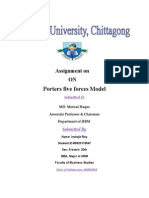 Porter five forces analysis.docx