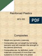 19 Reinforced Plastics