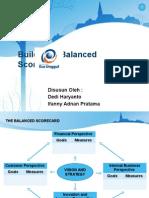 Slide Building a Balance Scorecard