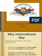 international day presentation