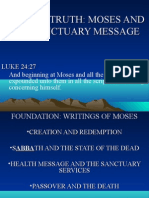 Moses and the Sanctuary Message