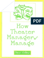 ow Theater Managers Manage