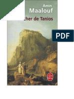 Le Rocher de Tanios Amine Maalouf