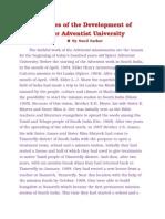 The Spicer Adventist University History by Sunil Sarkar