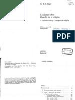 Hegel - Lecciones Sobre Filosofía de La Religión I - 1 Introducción y Concepto de Religión