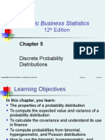 Chapter 5:Discrete Probability Distributions