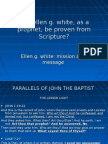 Ellen g. White Mission and Message From Scripture