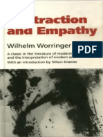 Wilhelm Worringer. Abstraction and Empathy