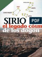 Sirio. El legado cósmico de los Dogon.