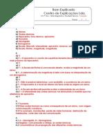 B - 3.2 - Teste Diagnóstico - Actividade Sísmica (1) - Soluções