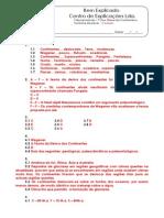 B - 2.1 - Teste Diagnóstico - Deriva Dos Continentes e Tectónica de Placas (1) - Soluções