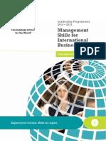 Management Skills for International Business-InSEAD