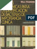 Pruebas Bioquimicas Para La Identificacion de Bacterias de Importancia Clinica